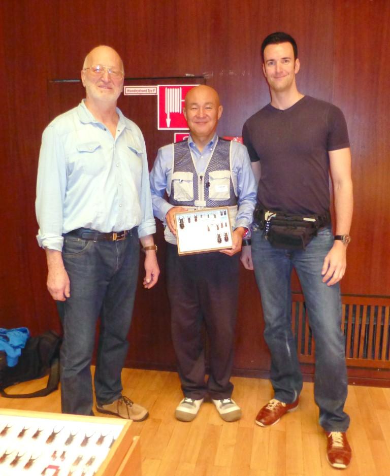 2015 – Insectfair Frankfurt with Dr. Schenk & Kiyotami Fukinuki from Japan