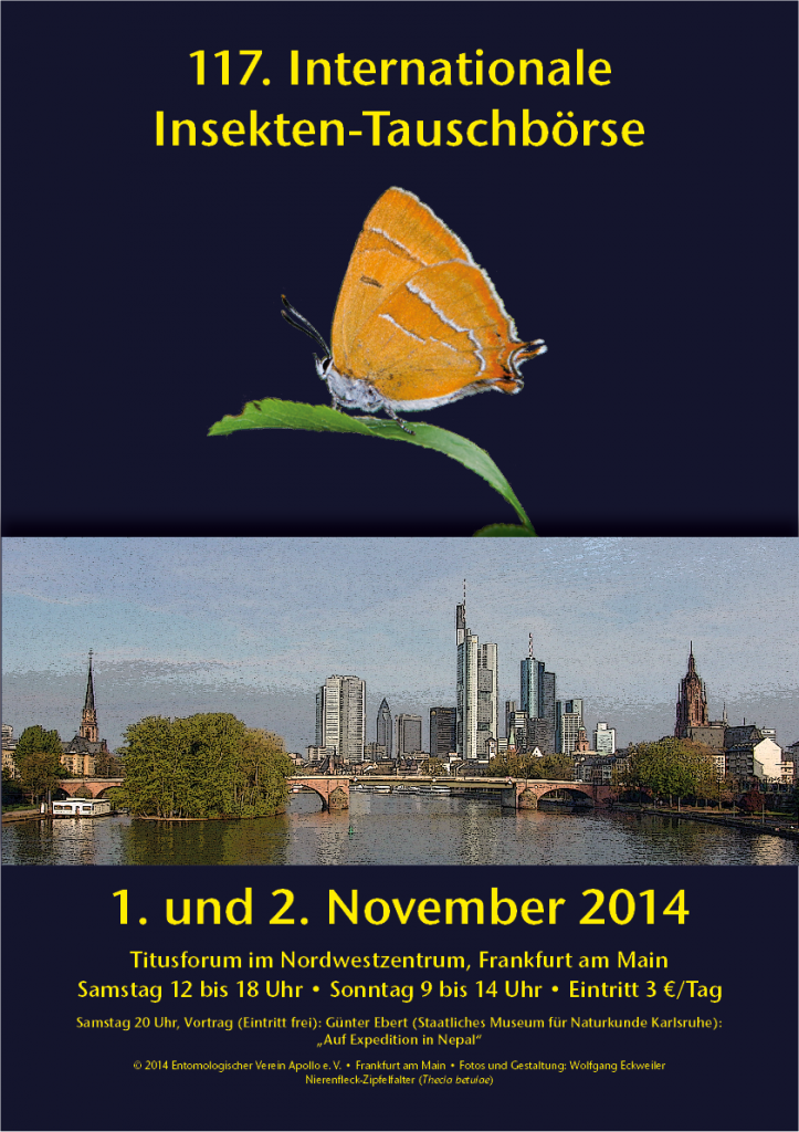 International Insectfair Frankfurt am Main 2014